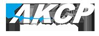 AKCP Logo - white