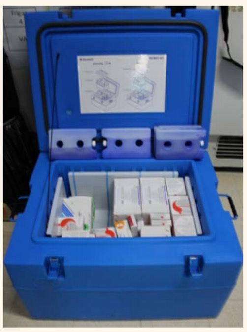 RCW 27 vaccine cooler