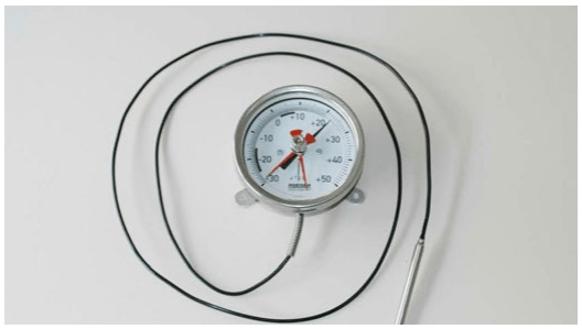 gas vapor pressure dial thermometer
