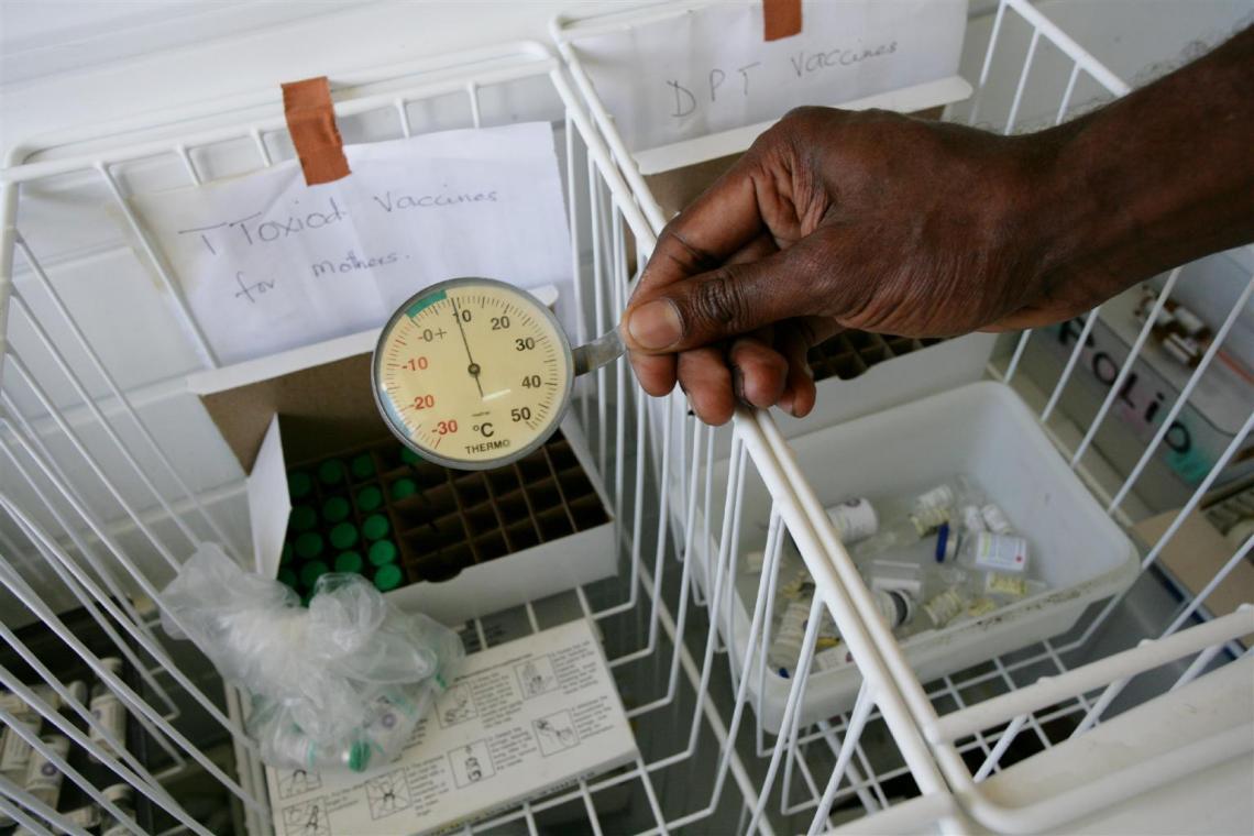 vaccine temperature monitoring and cold chain