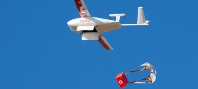 drone delivery of vaccines