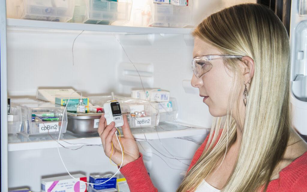 Proper temperature monitoring of vaccines