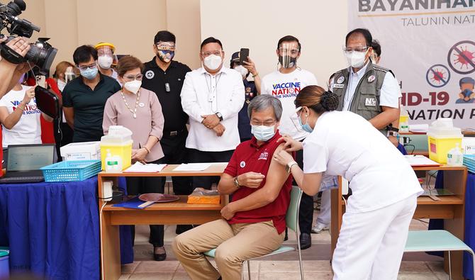 Philippine vaccine rollout