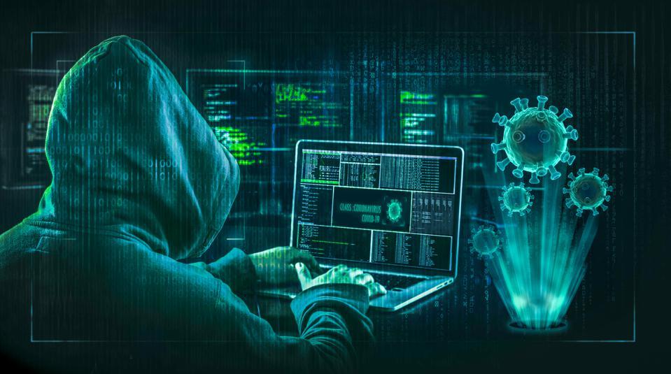Infiltrators stealing intellectual property