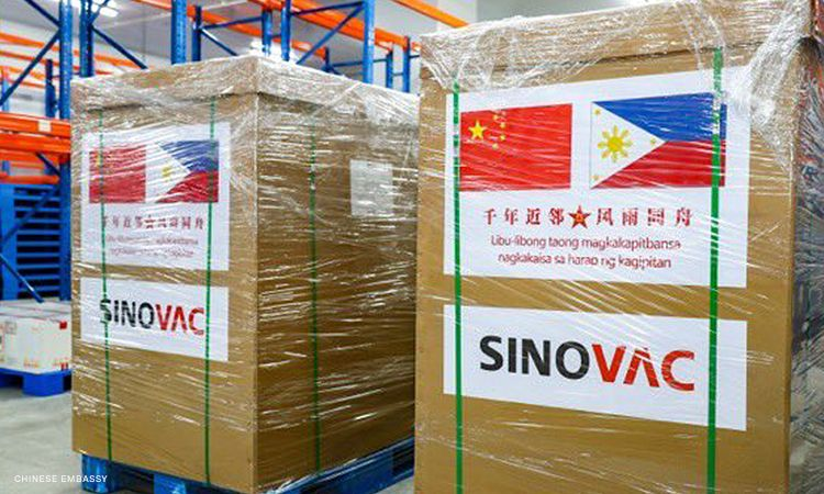 Cold storage monitoring preparation for Sinovac arrival in the Philippines