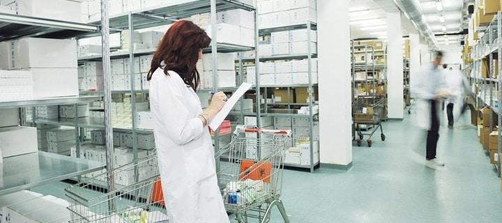 Large pharmaceutical warehouses environmental monitoring