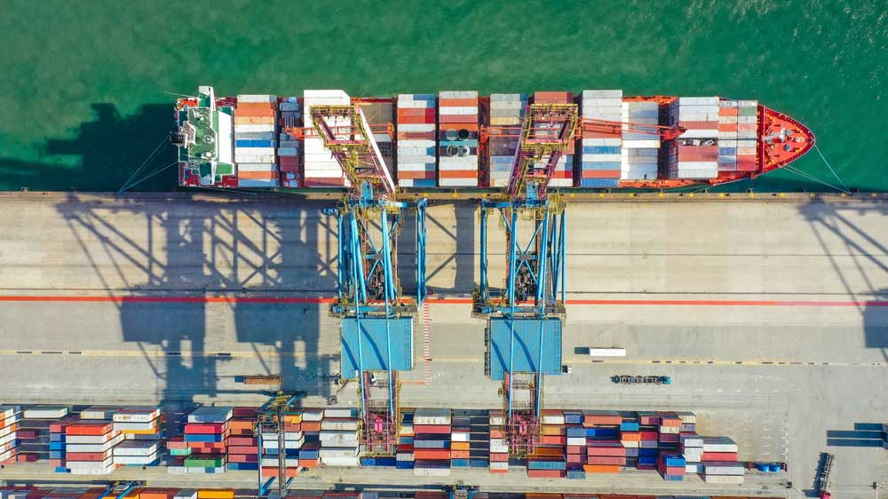 tracking and monitoring for ocean freight