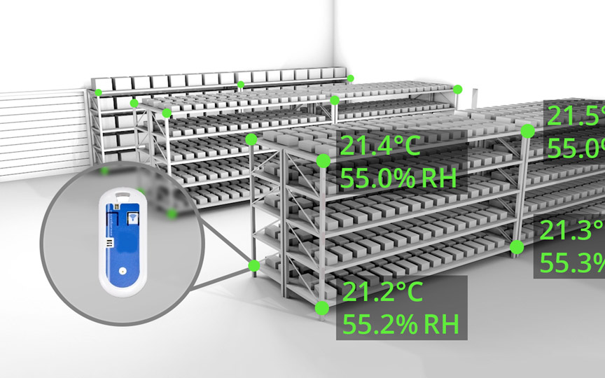 Good Pharmaceutical Storage Monitoring the environmental conditions