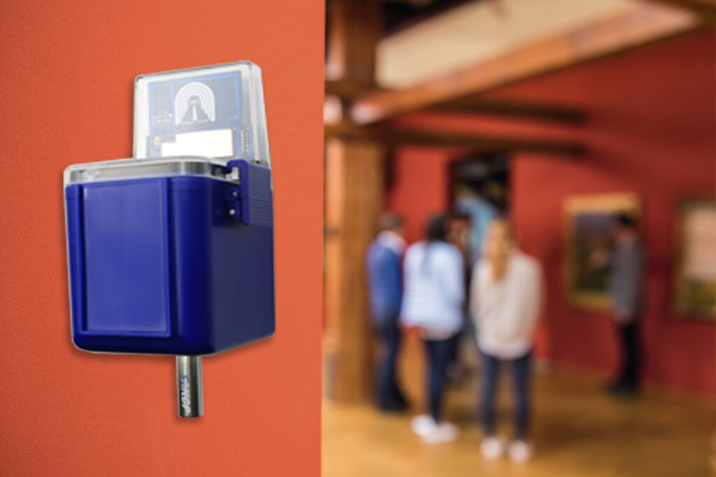 continuous monitoring using data loggers in Art Galleries and Museums