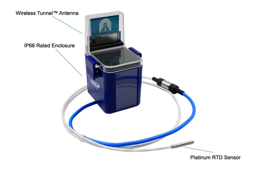 PT100 ultra low temperature wireless sensors